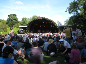 The Garden Stage